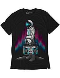 AstroBlaster Men's Graphic Tee Shirt (Black)