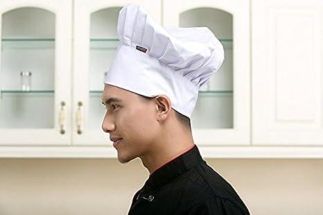 Comfortable Cook Adjustable Men Kitchen Baker Chef Elastic Cap Hat Catering New