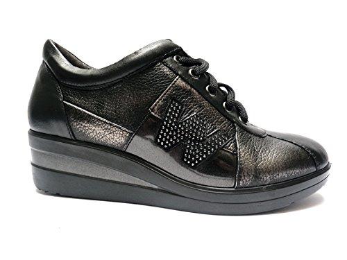 Melluso Zapatos de Cordones Para Hombre Negro Negro 40 vbqcnn3