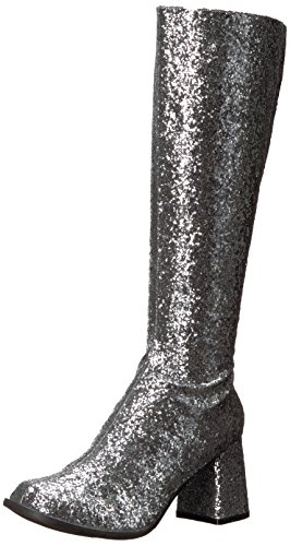 Ellie Shoes Women's Gogo-g Chelsea Boot Silver