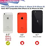 RUNSY Battery Case Compatible with iPhone 5 / 5S