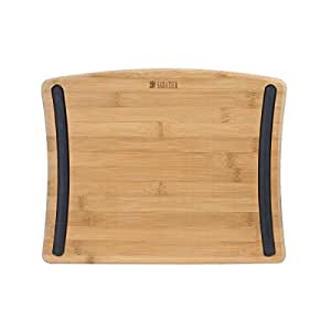 Sabatier Bamboo Cutting Board, 11-Inch by 14-Inch