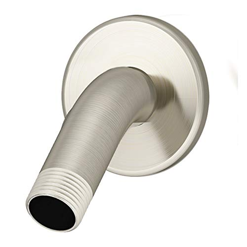 (Symmons 300S-STN Elm Shower Arm with Flange in Satin Nickel)
