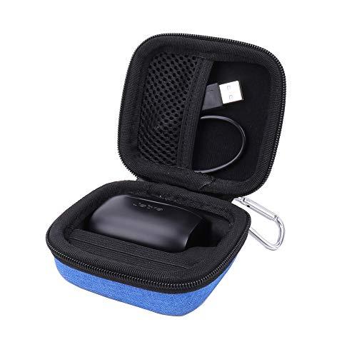 Hard Case for the Jabra Elite Active 65t | Jabra Elite 65t True Wireless Earphone/Headphone by Aenllosi (blue)
