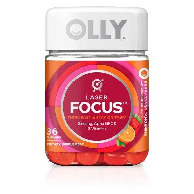 Olly Complete Focus Vitamin Gummies – Berry Tangerine – 36ct Review