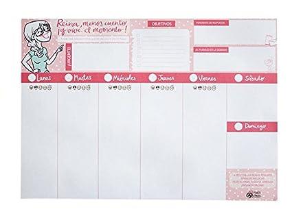 Pedrita Parker 00029 - Planificador A4, 210 x 297 mm, color rosa