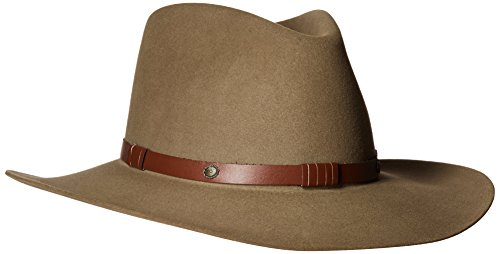 - Stetson Men's 5X Catera Fur Felt Cowboy Hat Bark 7 1/8