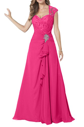 Missdressy - Traje de vestir - plisado - para mujer Rosa 52