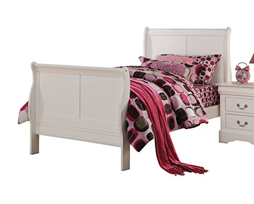 ACME Furniture 24510F Louis Philippe III Bed, Full, White