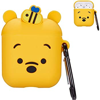 Amazon.com: BatKing Monster Case for Airpods 1 & 2,Cute