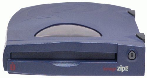Iomega - Disk drive - ZIP ( 250 MB ) - Parallel - external - blue by Iomega