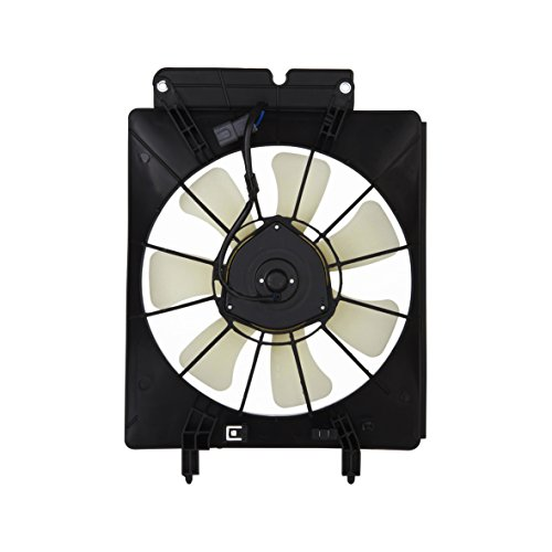Hex Autoparts A/C AC Air Conditioning Condenser Cooling Fan Motor & Shroud for 2002-2006 Honda CRV CR-V / 2003-2006 Honda Element A/c Cooling Fan Shroud