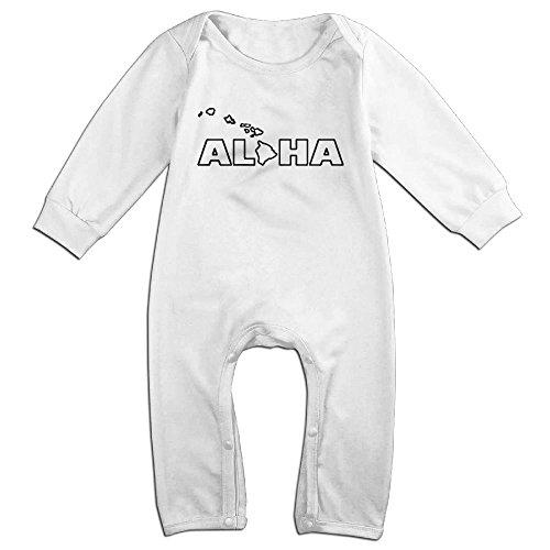 JOYJUN Aloha Hawaii Hawaiian Cool Girl Baby Onesies Bodysuits 1 - Stores Waikiki Clothing