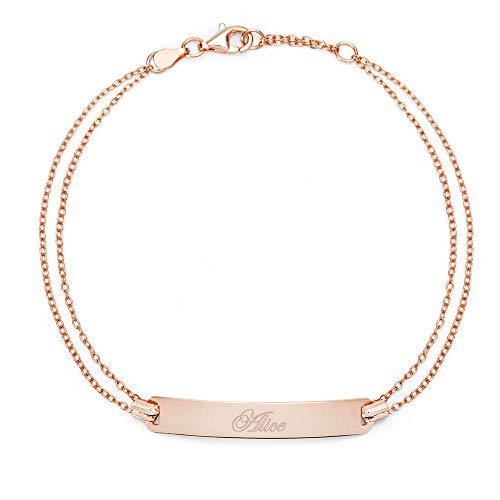 Engravable Rose Gold Plated...