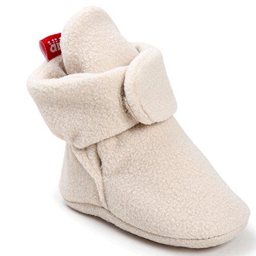 CIOR-Baby-Cozy-Fleece-Booties-with-Non-Skid-Bottom