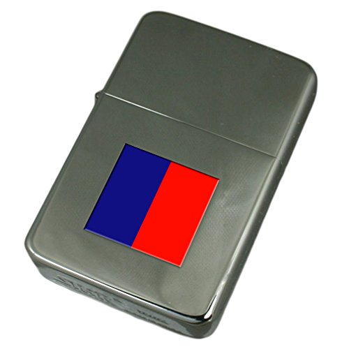 Engraved Lighter Cagliari City Italy Flag by Select Gifts