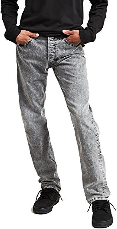 Levis Skate 501 STF No Comply Grey, kolor: szary , rozmiar: 30W / 32L: Odzież