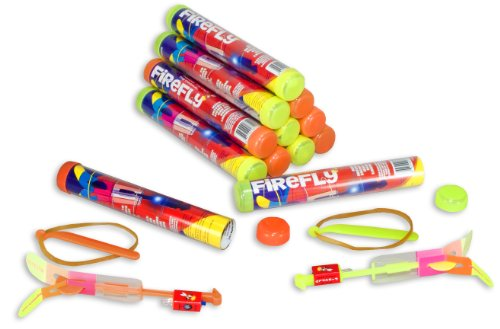 Fireworks Rocket (Megatech Firefly Hand Launched Aircraft 12 Pack)