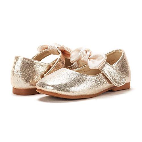 DREAM Gold Jane Ballerina Flat Shoes Size 9