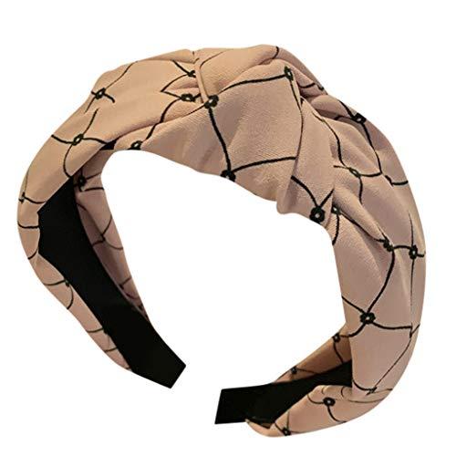 Kulywon Women's Crystal Headband Fabric Hairband Head Wrap Hair Band Accessories 2019 ()