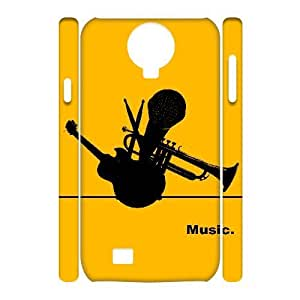 ALICASE Diy Case Music Cover For Samsung Galaxy S4 i9500 [Pattern-1]