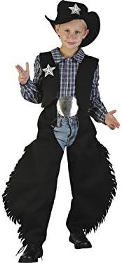 Disfraz Vaquero Negro Niño Talla L: Amazon.es: Juguetes y juegos