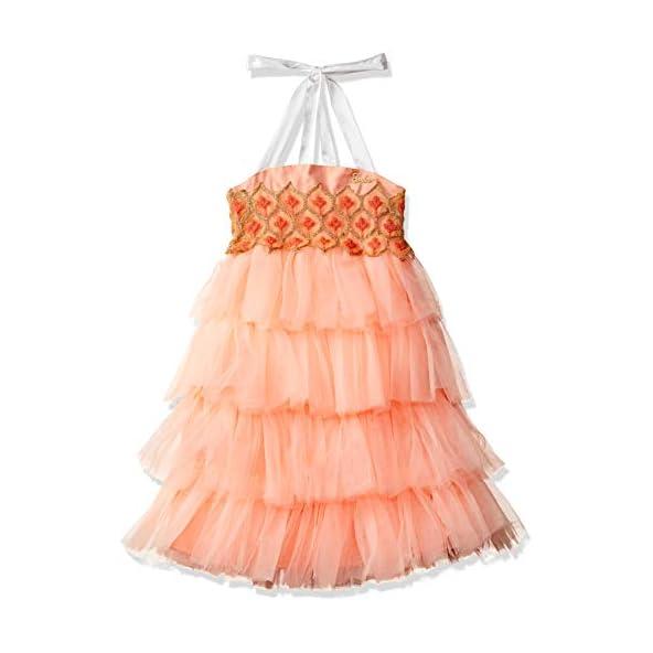 Barbie by Many Frocks & Baby Girls' Maxi Dress