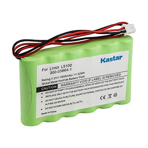 Kastar Battery Compatible with Ademco Honeywell Lynx LYNXRCHKITHC LYNXRCHKIT-HC K5109 781410403291 55026089 WALYNX-RCHB-SC WALYNXRCHBSC LYNXRCHKIT-SC
