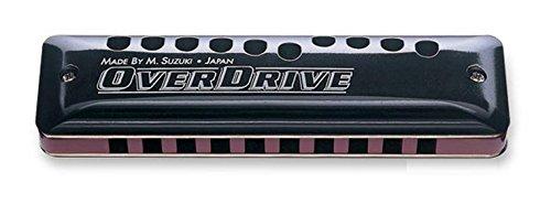 Suzuki MR 300Overdrive Deluxe Harmonica 10Holes/20Tones) Bendable Key D