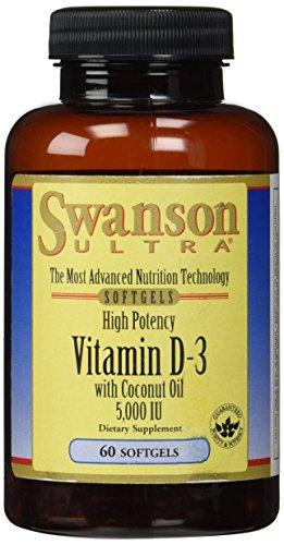 Swanson Potency Vitamin Coconut Sgels