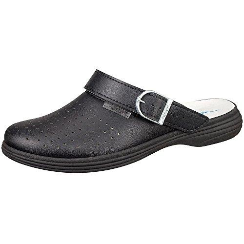 """Abeba 7530-42 misura 106,68 cm (42"""") originale Plus-Scarpe da lavoro per zoccolo, colore: nero"""