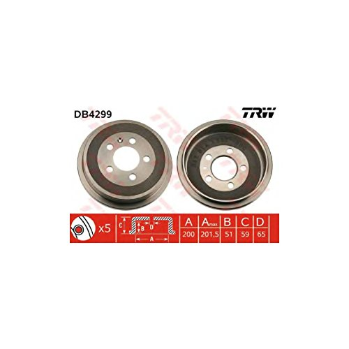 TRW DB4299 Brake Drums: