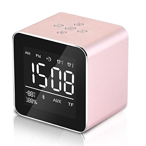 Frisch Alarm Clock, Wake Up Light Clock with Stepless Adjustable Brightness...