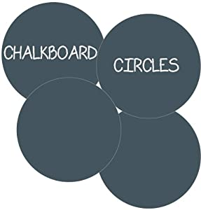 WallCandy Arts Chalkboard Circles Wall Decal Kit from WallCandy Arts