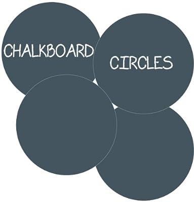 WallCandy Arts Chalkboard Circles Wall Decal Kit from WallCandy Arts