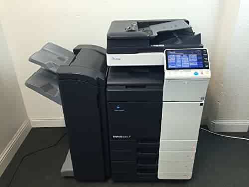 Konica Minolta Bizhub C364 Copier Printer Scanner Fax 4 Drawers LOW 170k