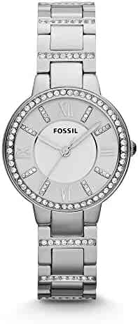 Fossil Women's ES3282 Virginia Three-Hand Stainless Steel Watch