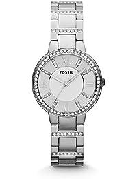 Women's ES3282 Virginia Three-Hand Stainless Steel Watch