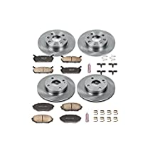 Autospecialty (KOE718) Daily Driver OE Brake Kit, Front and Rear