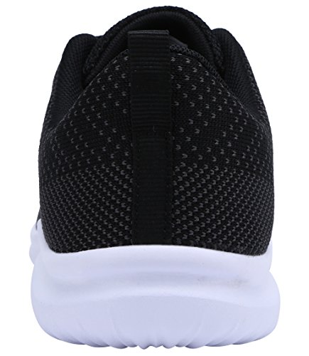 Casual Women's Coodo grey Black Shoes Sneakers Breathable dk Athletic CBdxPwtq