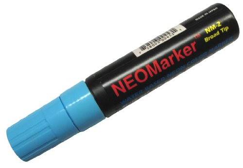 Neomarker Large Waterproof Marker Broad Tip - Blue