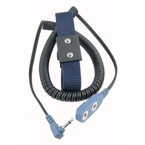 Desco Silveron Reusable Wrist Strap /& Cord Set 4 mm Snap PRICE is per EACH 19851
