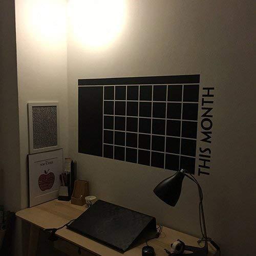 Hung Kai Calendrier mural pour tableau noir Inscription en anglais /« To Do List /» 60 cm x 92 cm