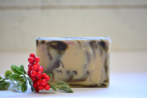 Patchouli and Cedar Goat Milk and Hemp Milk Soap