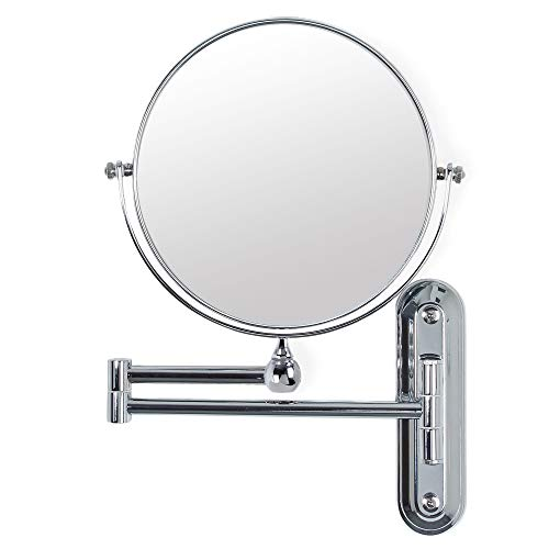 Better-Living-Products-13542-Valet-Wall-Mount-Magnified-Mirror-Chrome-8-Inch
