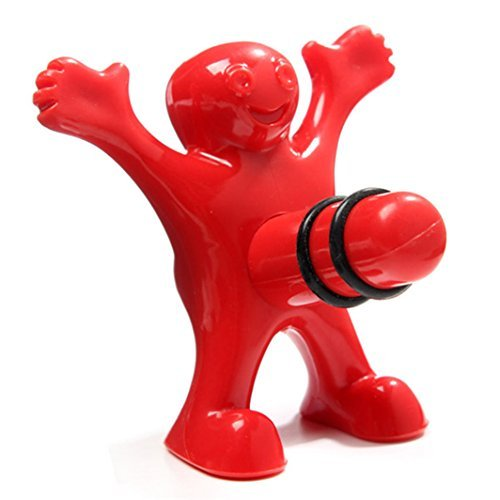Cheap Newest Funny Happy Man Guy Wine Stopper Opener Novelty Bar Tools Wine Cork Bottle Plug Perky Creative Gifts (wine stopper)