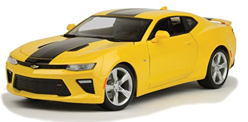 Maisto New 1:18 W/B Special Edition - Yellow 2016 Chevrolet Camaro SS Diecast Model Car - Special Edition Diecast Model