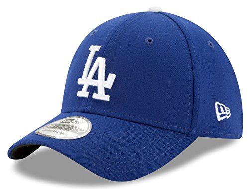 New Era MLB Los Angeles Dodgers Team Classic Game 39Thirty Stretch Fit Cap, Blue, Medium/Large ()