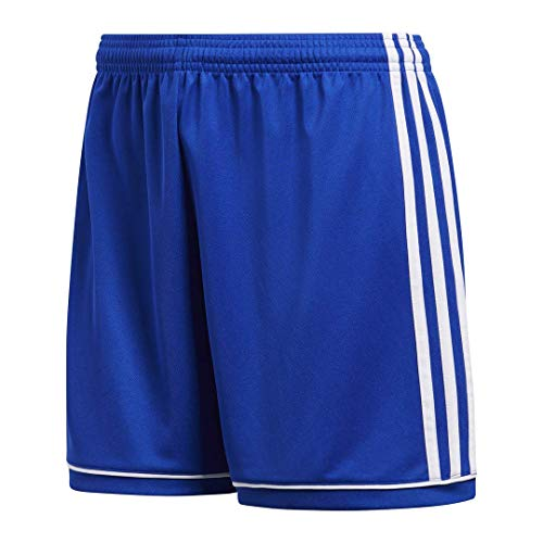 (Adidas Women's Soccer Squadra 17 Shorts - Small - Bold Blue/White )