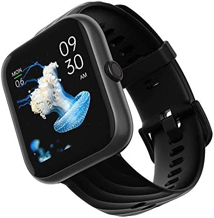 Smart Watch, Virmee VT3 Plus Fitness Tracker 1.5 In HD Touch Screen with Heart Rate Monitor Blood Oxygen Meter Sleep Step Tracking, IP68 Waterproof Smartwatch Compatible with iOS Android for Men Women